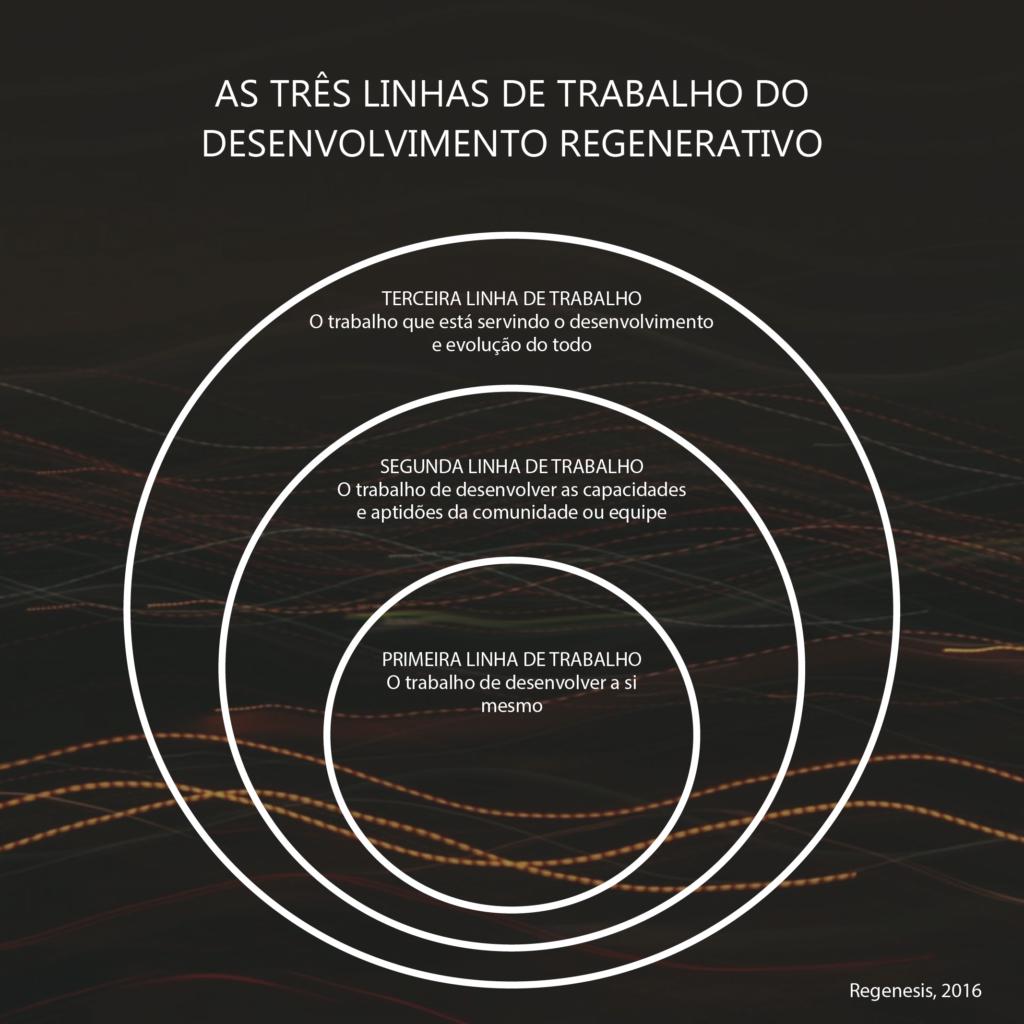 As três linhas de trabalho do desenvolvimento regenerativo