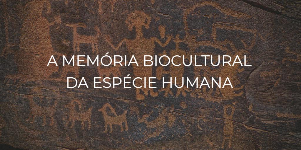 a memória biocultural da espécie humana - instituto de desenvolvimento regenerativo
