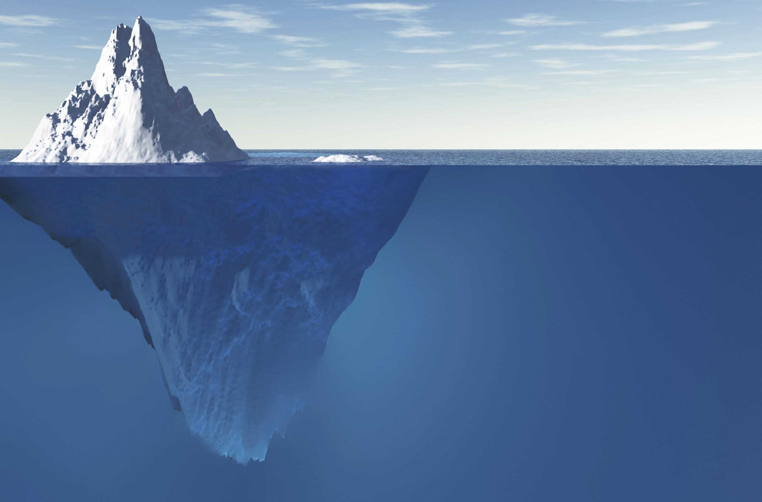 O mundo como um iceberg